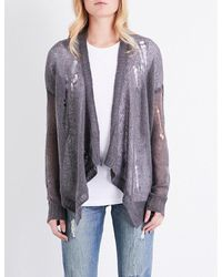 360cashmere   Multicolor Kimi Wool And Alpaca-blend Cardigan   Lyst