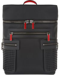 Christian Louboutin Black Mens Apoloubi Backpack Calf Empire/spike for men