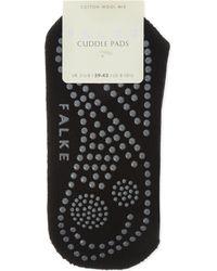 Falke Blue Cuddle Pad Socks