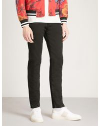 Paul Smith - Black Lightweight Slim-fit Tapered Jeans for Men - Lyst