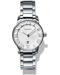 Tiffany & Co Metallic Atlas® 2-hand 29mm Women's Watch In Stainless Steel