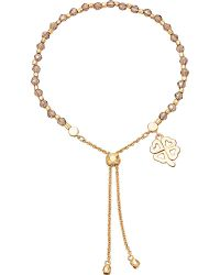 Astley Clarke | Four Leaf Clover 18ct Yellow Gold-plated Friendship Bracelet | Lyst