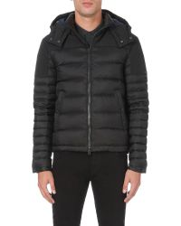 Burberry Black Lightweight Quilted Shell Jacket for men