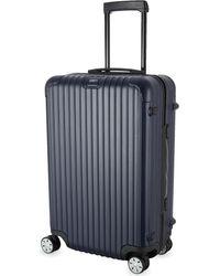 Rimowa Blue Salsa Four-wheel Spinner Suitcase 68cm for men