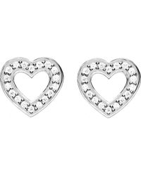 Thomas Sabo - Metallic Glam & Soul Sterling Silver And Diamond Earrings - Lyst