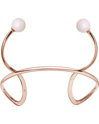 Astley Clarke   Yves Rose-gold Vermeil & Pink Opal Cuff   Lyst