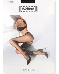 Wolford Black Twenties Tights