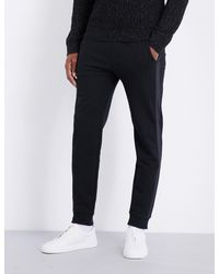 Michael Kors | Black Thermo Cotton-blend Jogging Bottoms for Men | Lyst