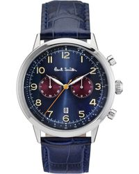 Paul Smith Blue P10012 Prescision Stainless Steel Watch for men