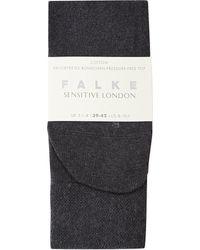 Falke   Gray Sensitive London Socks   Lyst