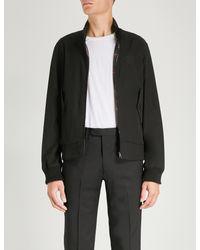 Burberry Black Dalham Cotton-twill Jacket for men