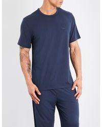 Calvin Klein - Blue Infinite Jersey T-shirt for Men - Lyst