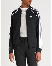 Adidas Originals Black Adicolor Techno Track Top