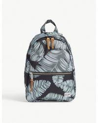 Herschel Supply Co. . Black Palm Floral Town Xs Backpack for men