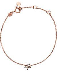 Links of London Pink Diamond Essentials 18ct Rose Gold-vermeil And Diamond Bracelet
