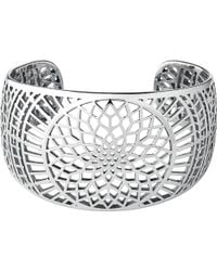 Links of London | Metallic Timeless Sterling Silver Cuff Bracelet | Lyst