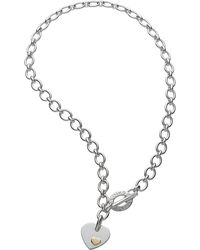 Links of London | Metallic Classic Heart Pendant Necklace | Lyst