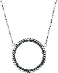 Links of London | Metallic Effervescence Sterling Silver And Diamond Necklace | Lyst