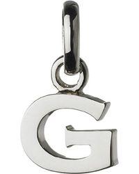 Links of London | Metallic Alphabet G Sterling Silver Charm | Lyst