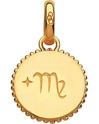 Links of London   Virgo 18ct Yellow-gold Vermeil Zodiac Charm   Lyst