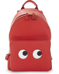 Anya Hindmarch | Red Mini Eyes Backpack | Lyst