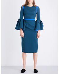 Roksanda - Blue Margot Stretch-crepe Dress - Lyst