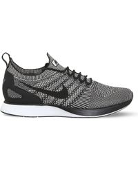 Nike - Black Air Zoom Mariah Flyknit Racer Trainers for Men - Lyst
