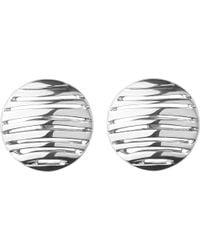 Links of London - Metallic Thames Sterling Silver Stud Earrings - Lyst
