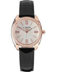 Links of London | Pink Bloomsbury Rose Gold-plated Watch | Lyst