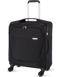 Samsonite | Black Four-wheel Spinner Suitcase 56cm for Men | Lyst