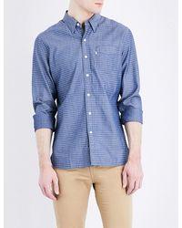 Levi's Blue Sunset Cotton Shirt for men