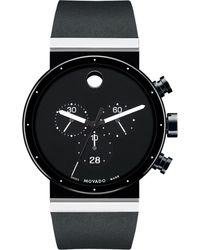 Movado - Black 0606501 Sapphire Synergy Stainless Steel Watch for Men - Lyst
