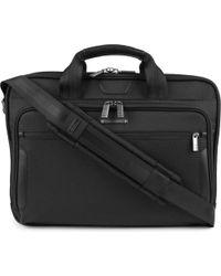 Briggs & Riley - Black @work Medium Laptop Briefcase for Men - Lyst