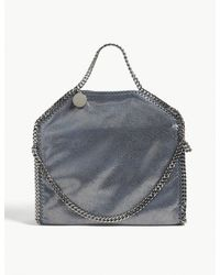 Stella McCartney - Blue Falabella Shoulder Bag - Lyst