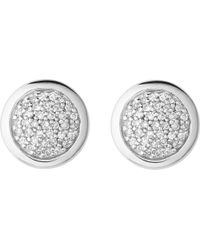 Links of London Metallic Diamond Essentials Sterling Silver And Diamond Stud Earrings
