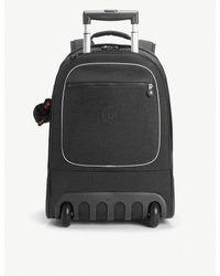 Kipling - True Black Clas Soobin Wheeled Backpack - Lyst