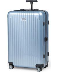 Rimowa Blue Salsa Air Four-wheel Suitcase 68cm