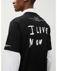The Soloist Black Teenage Rockstars Cotton-jersey T-shirt for men