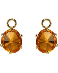 Annoushka - Black 18ct Yellow Gold And Citrine Drops - Lyst