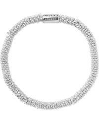 Links of London - Metallic Effervescence Sterling Silver Stretch Bracelet - Lyst