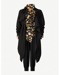 Aganovich Multicolor Floral Jacquard Woven Shirt