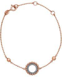 Links of London - Metallic Effervescence 18ct Rose Gold And Diamond Bracelet - Lyst
