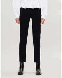 Citizens of Humanity Multicolor Harlow Slim-fit High-rise Corduroy Trousers
