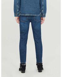 The Kooples Blue Distressed Slim-fit Jeans for men