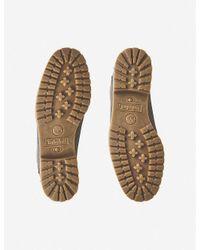 """Timberland Gray Slim Premium 6"""" Nubuck Boots"""