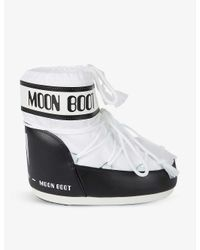 Moon Boot White Low-top Shell Snow Boots