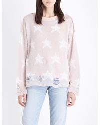 Wildfox Multicolor Seeing Stars Knitted Jumper