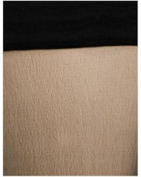 Wolford Black Individual 10 Stay-up Stockings