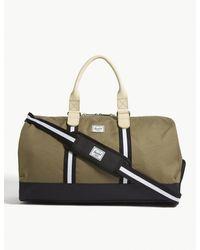 Herschel Supply Co. Black Novel Canvas Duffel Bag