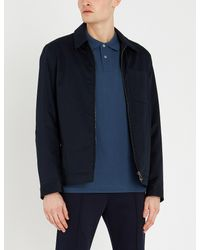 PS by Paul Smith Blue Zebra Badge Cotton-piqué Polo Shirt for men